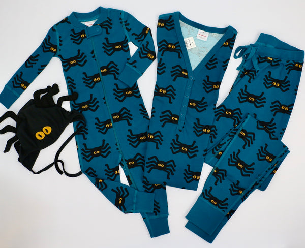 Mom & Baby Matching Spider Loungewear (12-18M/Mom SM)