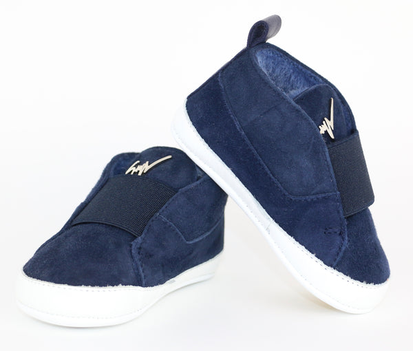 Suede Slip-on Shoes (3-6M)