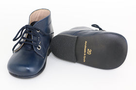 Classic Unisex Leather Boots (6M-12M)