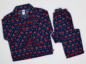 Train/Snowflake Pajama Set (6Y)