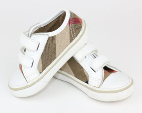 Plaid Sneakers (Size 19)