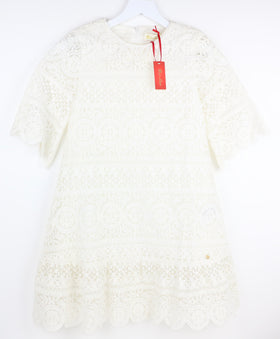 Scalloped Lace Dress (11-12Y)