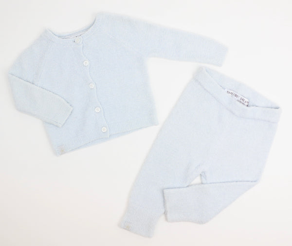 Luxurious Knit Cardi & Pant Set (3-6M)