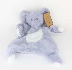 Crinkle Elephant/Rattle Security Blanket