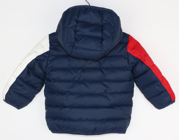 Red, White, & Blue Puffer Jacket (6M)