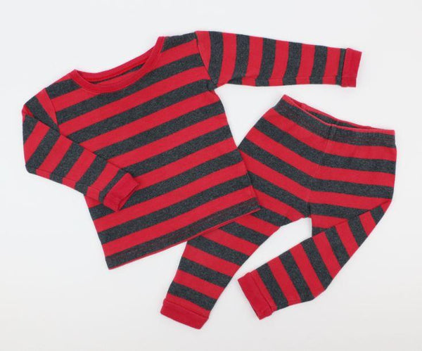 Stripe Pajama Set (18-24M)