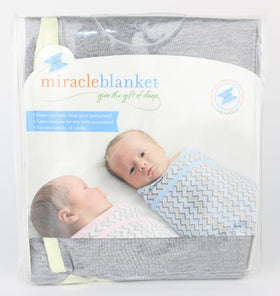 Mint Green Miracle Swaddle Blanket (NB-14 Weeks)