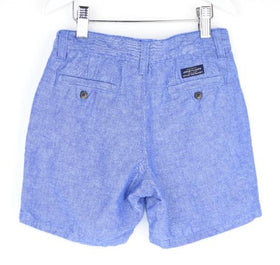 Janie and Jack Chambray Linen Shorts (6Y)