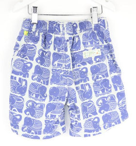 J. Crew-Crewcuts Elephant Swimtrunks (6Y)