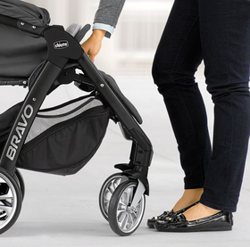 Bravo LE Quick-Fold Stroller (Up to 50 lbs)