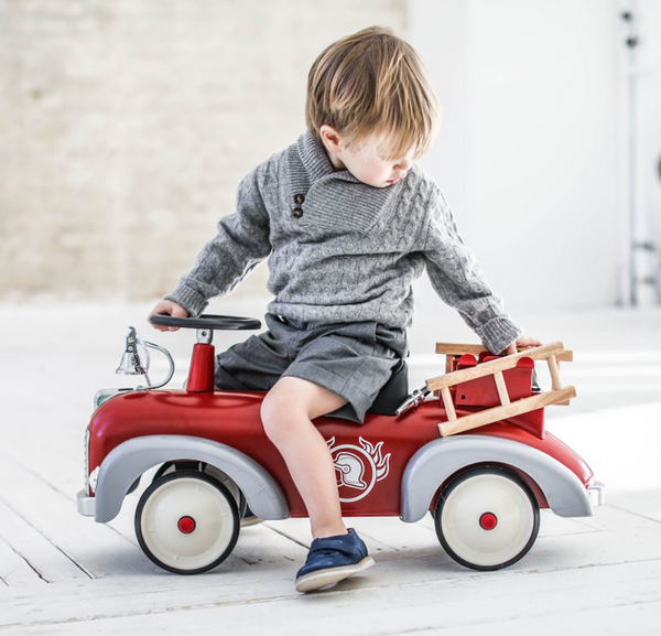 Speedster-Fireman Ride-On Push Car (1-3Y)