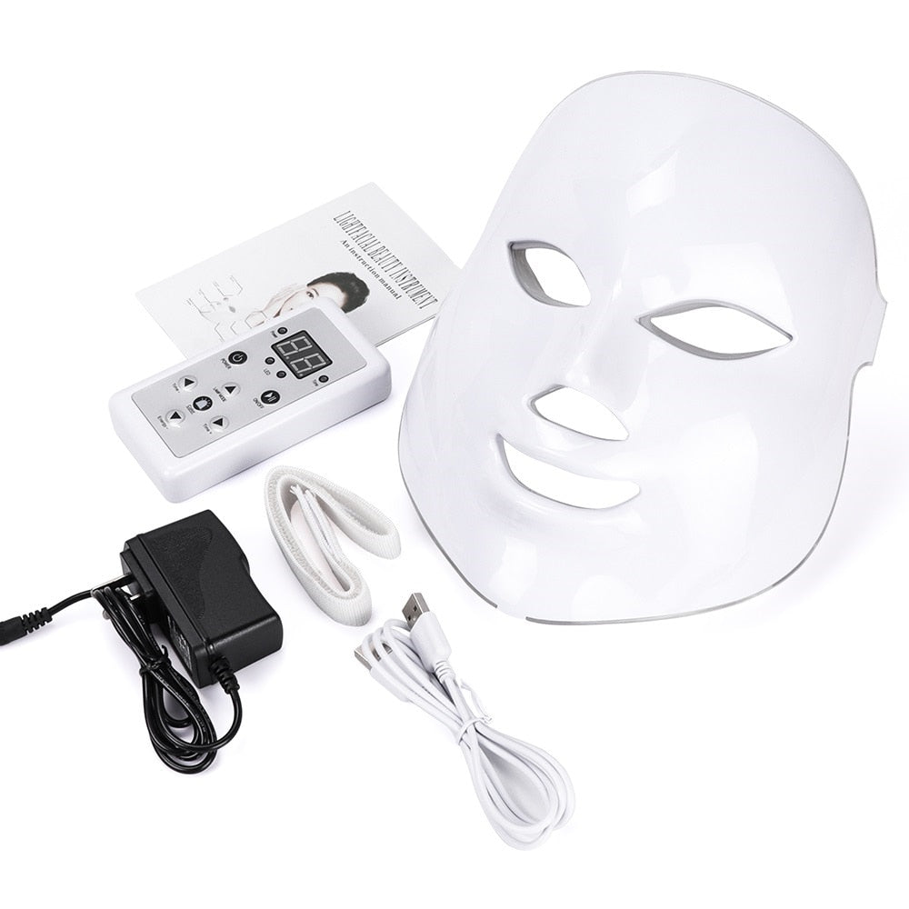 Beauty Photon LED Facial Mask Therapy