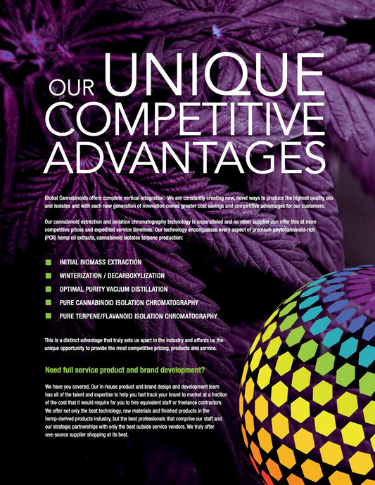 Our Unique Competitive Advantages
