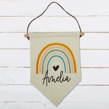Load image into Gallery viewer, Personalised Name Pennant
