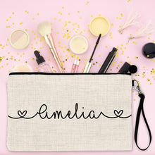 Load image into Gallery viewer, Personalised Make Up Bag