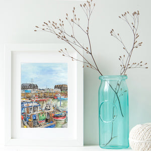 Whitstable A4 Framed Prints