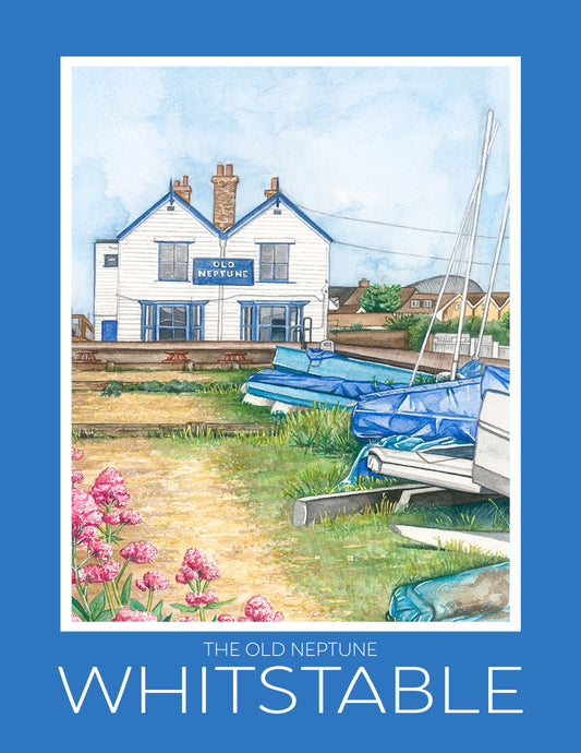 Whitstable A4 Travel Posters