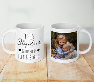 This Stepdad Is Loved Personalised Mug