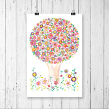 Load image into Gallery viewer, Tree Of Love Print