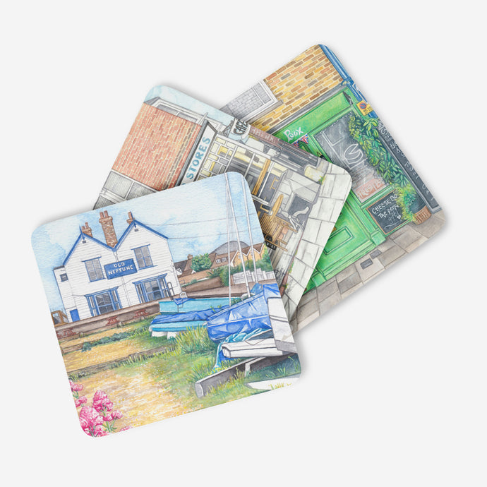 Whitstable Coasters