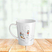 Load image into Gallery viewer, There Is Beauty In Simplicity - Latte Mug