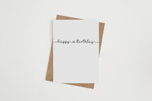 Load image into Gallery viewer, Happy Birthday Greetings Card