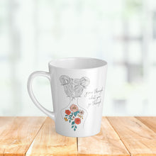 Load image into Gallery viewer, Grow what You Go Through - Latte Mug