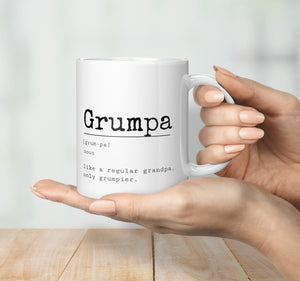 Grumpa Definition Mug