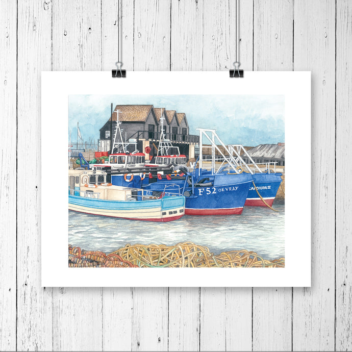 Whitstable A4 Prints