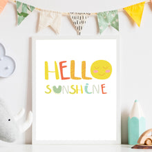 Load image into Gallery viewer, Hello Sunshine Print