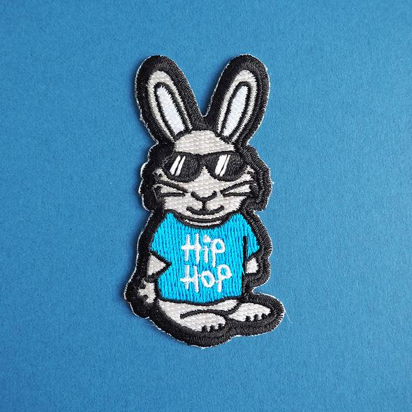 Hip Hop Iron On Patch