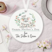 Load image into Gallery viewer, Personalised Mother's Day Ceramic Keepsake