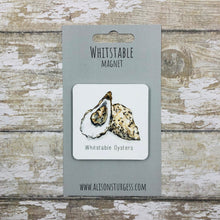 Load image into Gallery viewer, Whitstable Oyster Fridge Magnet