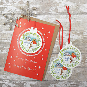 Whitstable Christmas Card & Bauble