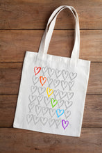 Load image into Gallery viewer, Pride Rainbow Tote Bag