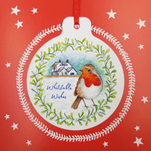 Load image into Gallery viewer, Whitstable Christmas Card & Bauble