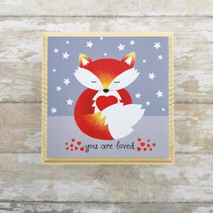 Fox Jewellery Box - You Are Loved