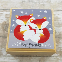 Load image into Gallery viewer, Fox Jewellery Box - Best Friends