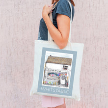 Load image into Gallery viewer, Whitstable Recycled Tote Bags