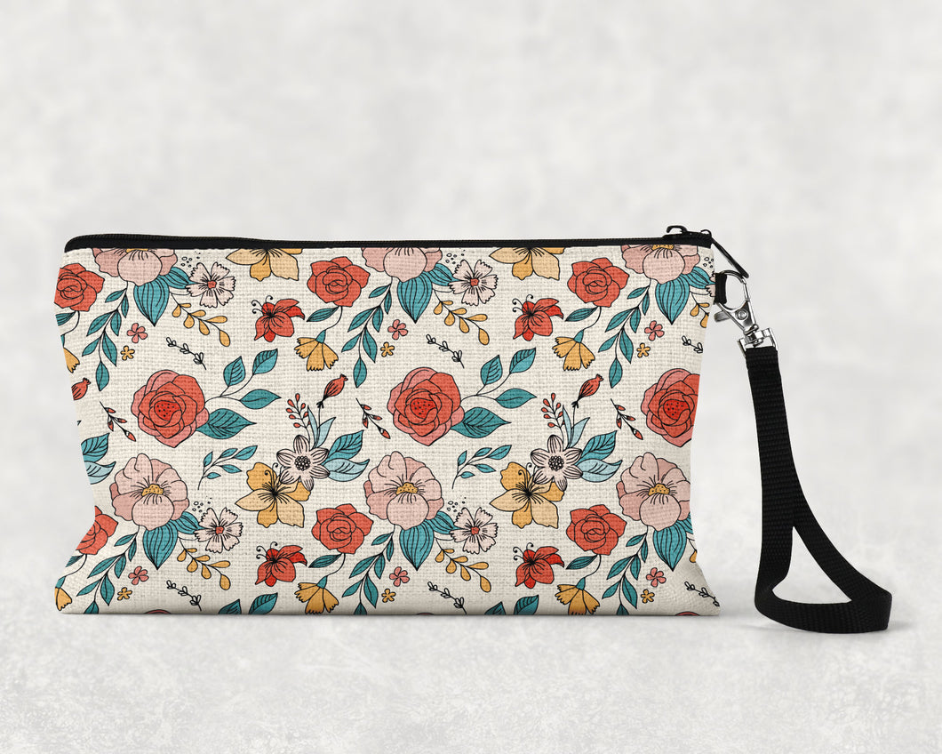Tattoo Pattern Make Up Bag