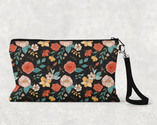 Load image into Gallery viewer, Tattoo Pattern Brown Make Up Bag