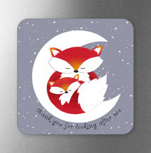 Load image into Gallery viewer, Thank You For Looking Afer Me Fox Fridge Magnet