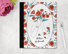 Load image into Gallery viewer, The Future Is Female - A4 Notebook