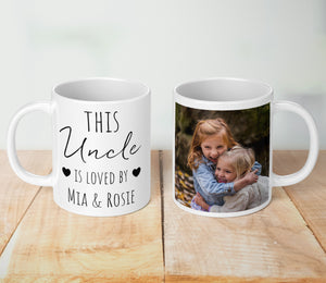 This Uncle Is Loved Personalised Mug