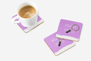 Wagatha Christie Coaster