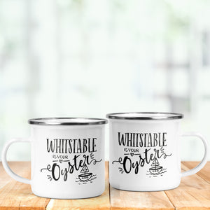 Whitstable Enamel Mug