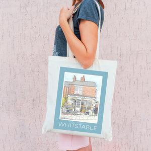 Whitstable Recycled Tote Bags