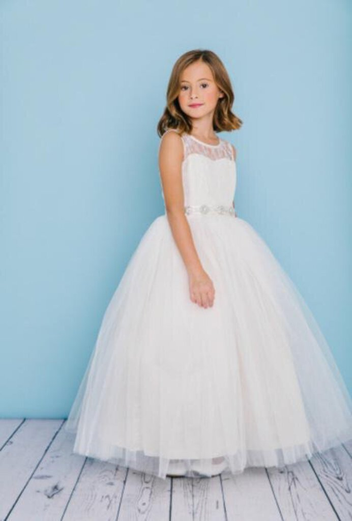 Rosebud Flower Girl Dress #5129