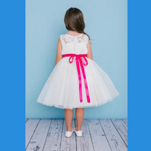 Rosebud Flower Girl Dress #5136