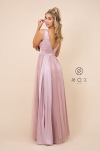 Nox Pleated Bridesmaid